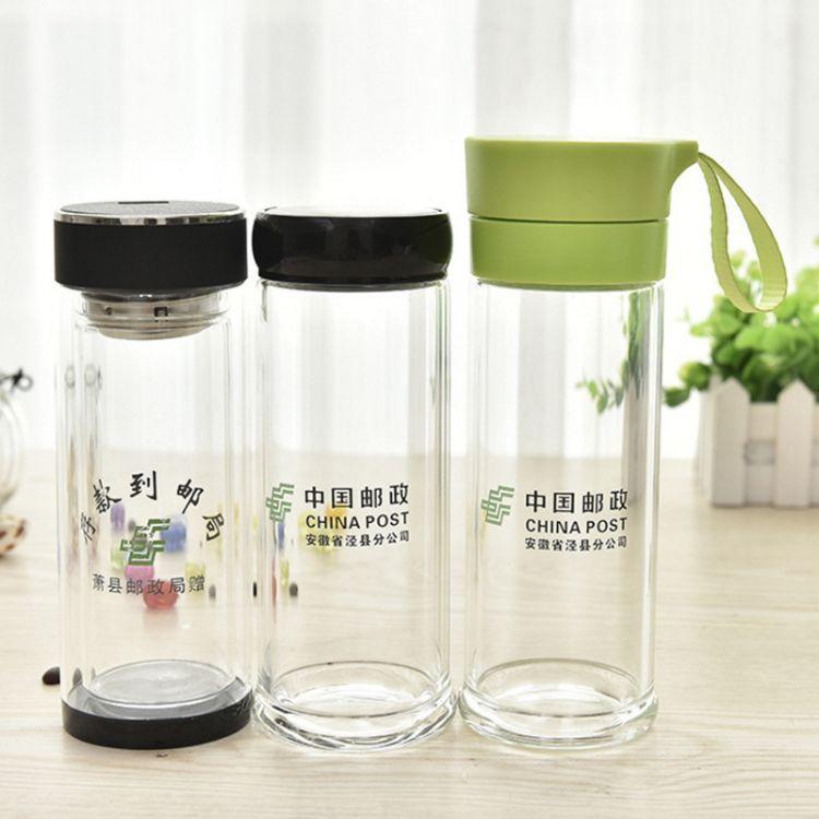 厂家玻璃杯子学生玻璃水杯创意玻璃杯定制义乌百货批发一件代发
