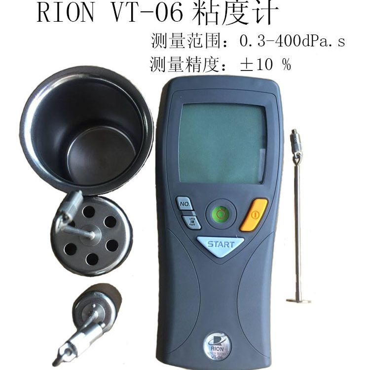 日本理音VT-06涂料数显粘度计运用于胶水石油粘合剂 数显粘度计