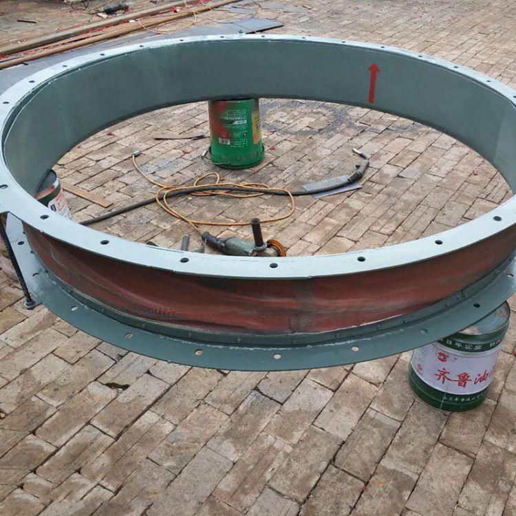 非金属补偿器 矩形圆形非金属膨胀节定制 通风管道非金属波纹管