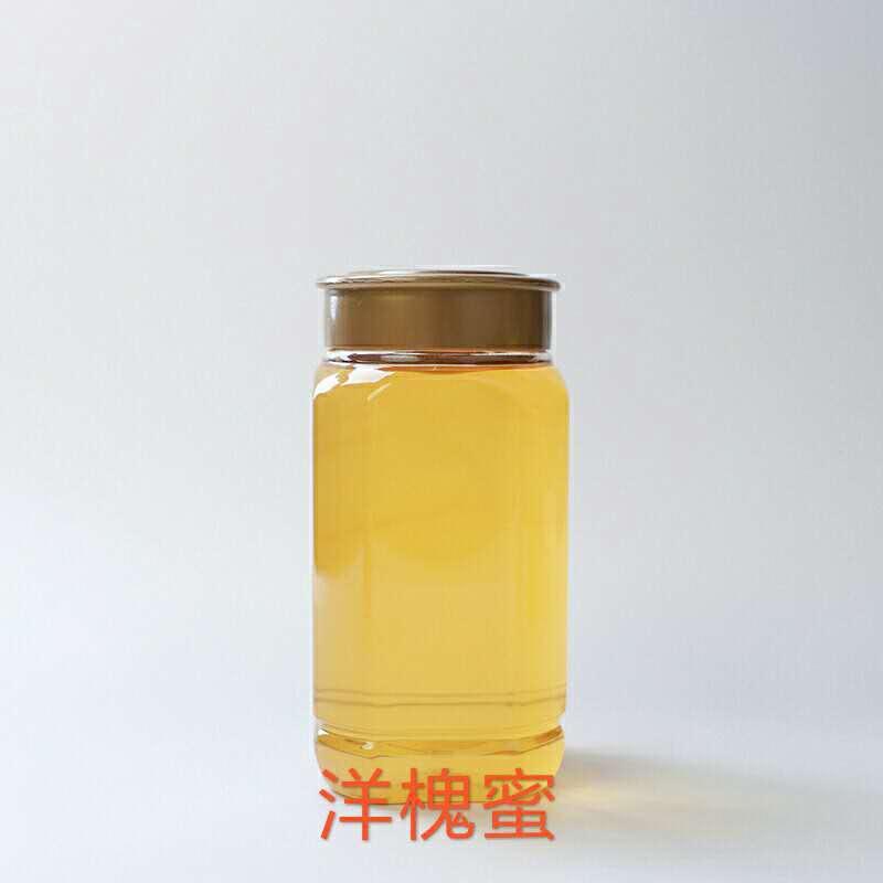 山平蜂业天然自产洋槐蜜蜂场直供500g瓶