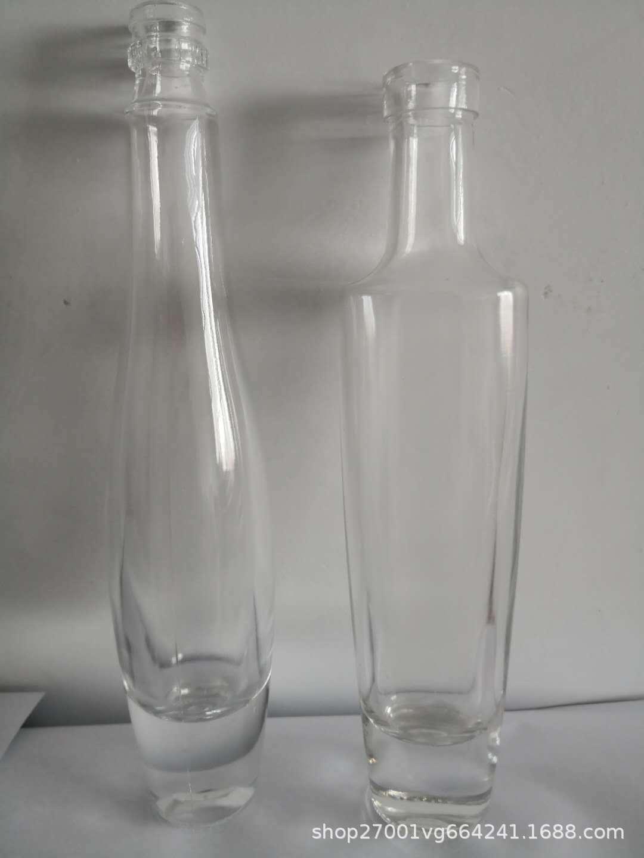 厂家批发玻璃酒瓶透明饮料瓶 精品红酒玻璃瓶各种玻璃瓶批发定制