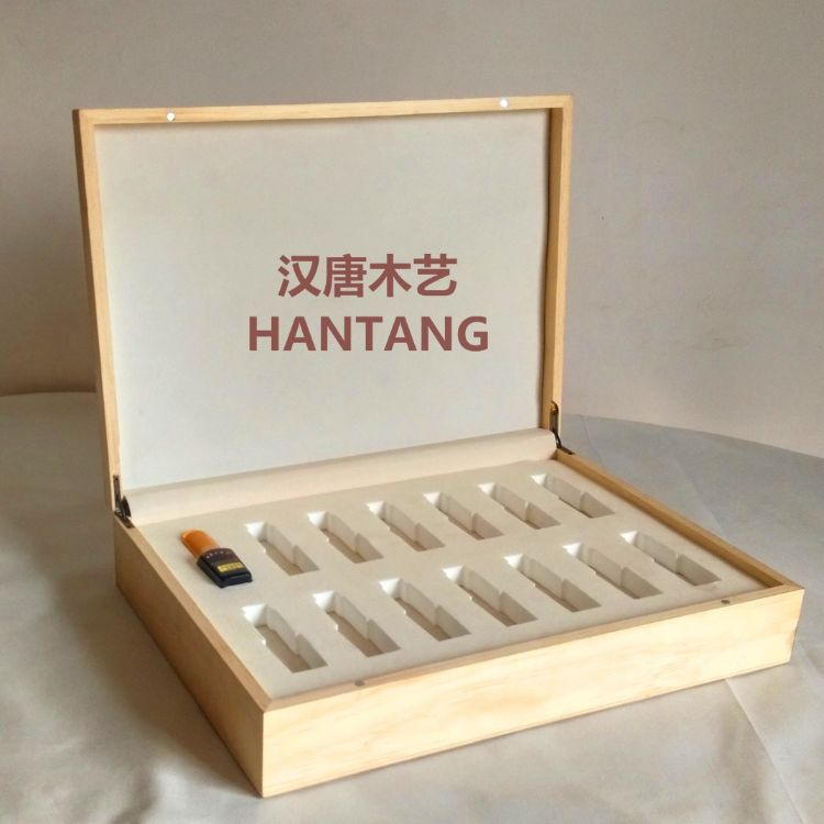 定制木盒包装实木精油包装木盒 化妆品保健品包装木盒 护肤品木盒