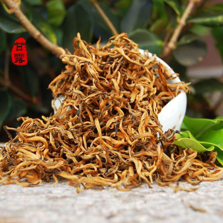 金芽红滇红 小金芽蜜香 金芽茶 单芽云南凤庆红茶 甘露茶叶