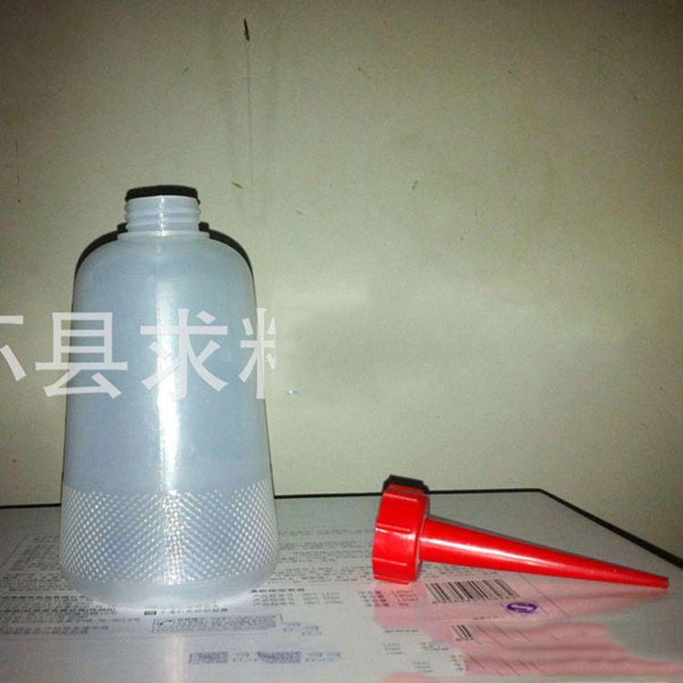 工业用加厚型机油壶塑料瓶 胶水壶 点胶壶 尖嘴壶 厂家直销