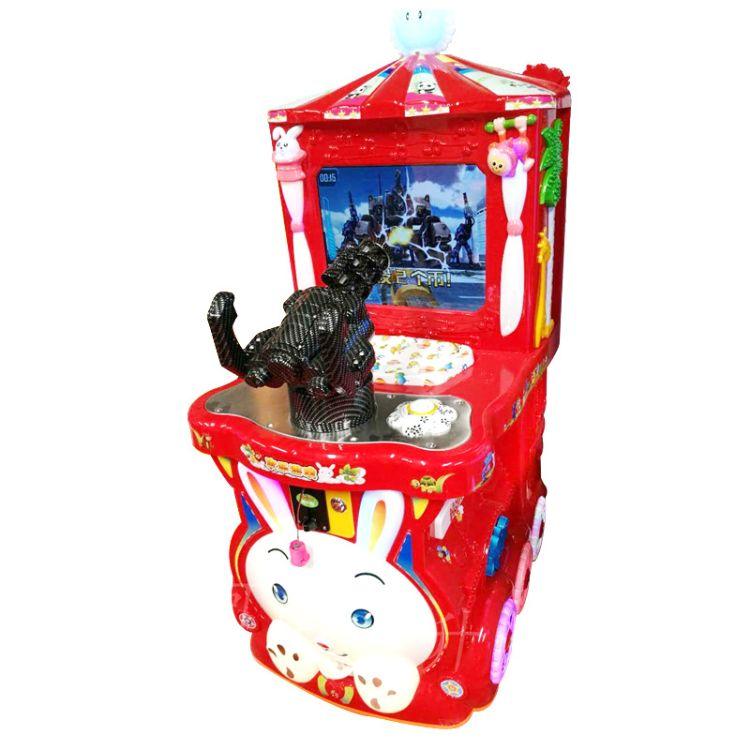 小小神枪手打枪游戏机 新款激光大战机器人电玩设备 投币游艺机