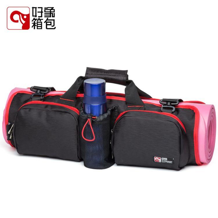 送折叠衣架好象外贸瑜伽包 多功能健身瑜伽垫 运动户外便携瑜伽包
