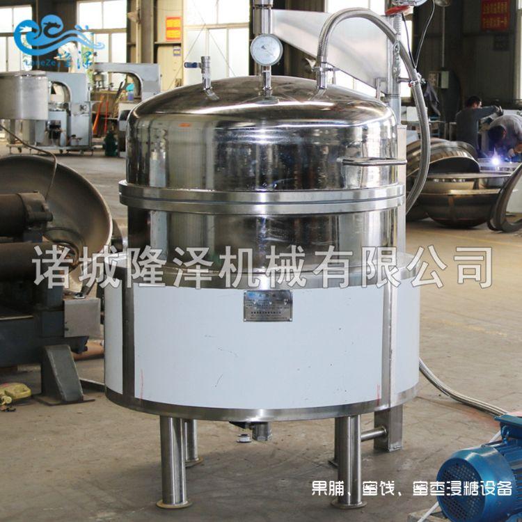 蜜饯冬瓜条工艺流程 冬瓜蜜饯糖煮机 冬瓜蜜饯煮糖设备