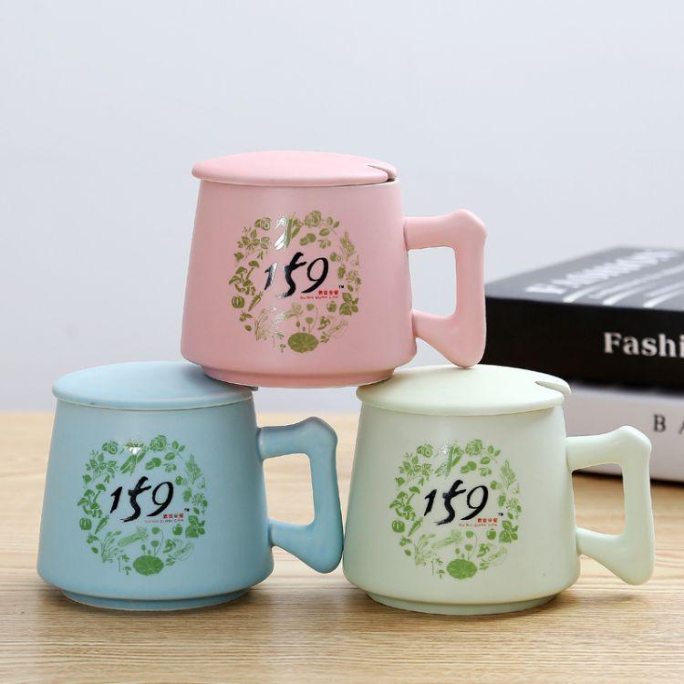 创意马克杯陶瓷杯定制  日式早餐牛奶159杯子 水杯加印logo陶瓷杯