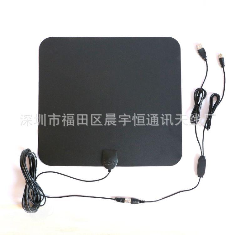 高清超薄美国数字电视天线 HDTVATSC室内薄膜天线