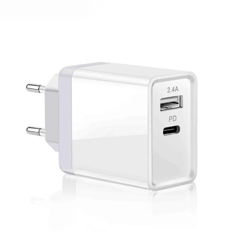 PD协议充电器 29W适用苹果快充  qc3.0 pd快充 I8 8X pd苹果快充