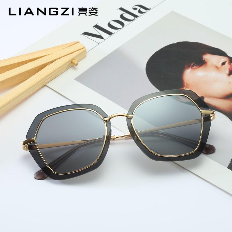 女士潮流太阳镜时尚墨镜同款太阳眼镜男女士户外时尚眼镜不规则新