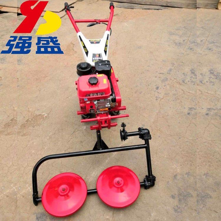 小型手推式割草机 多功能除草旋耕前旋微耕机 厂家直销草坪割草机