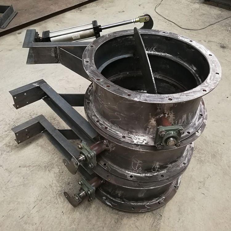 厂家直销 气动蝶阀 D671X-16 对夹式气动软密封蝶阀 气动阀门