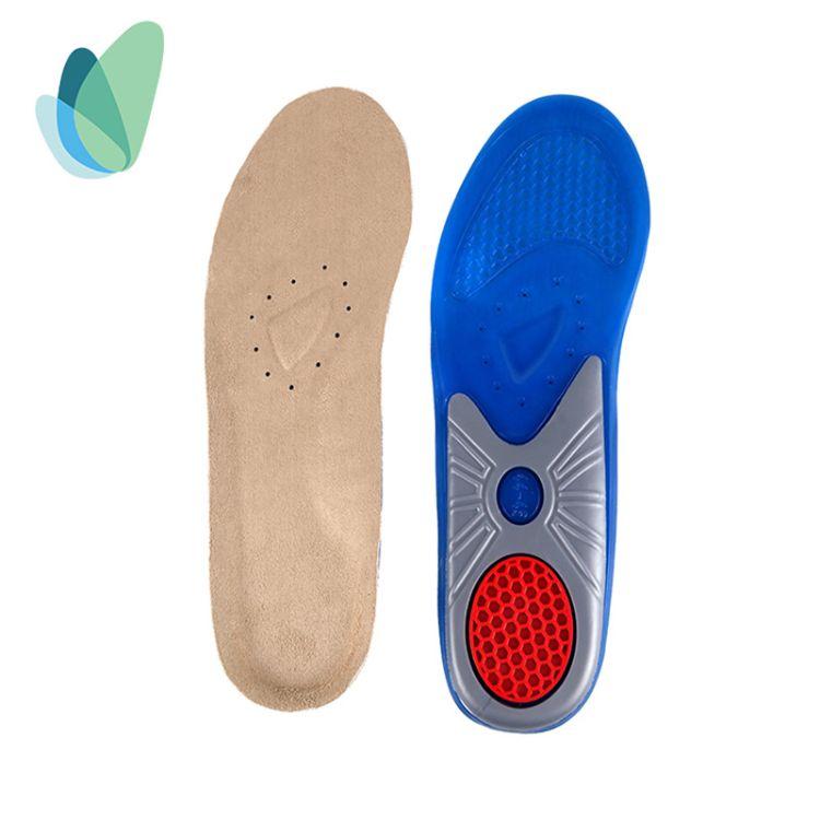 运动减震鞋垫透气吸汗防臭鞋垫 运动休闲户外护脚按摩防臭鞋垫