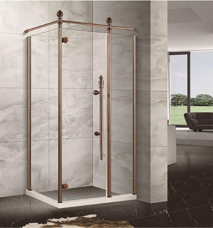 酒店工程淋浴房 简易淋浴房 定制淋浴房 装饰淋浴房 304不锈钢