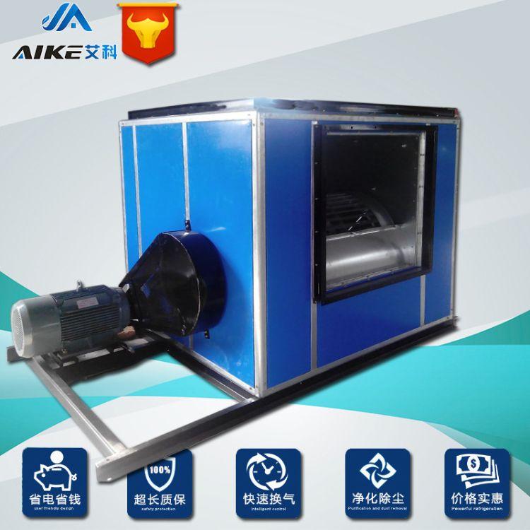 HTFC18 3KW型柜式排烟风机低噪音风机箱建设通风厨房排烟设备