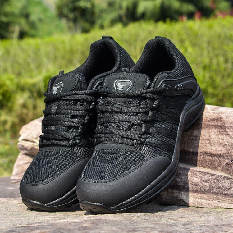 新式07a作训鞋黑色跑步鞋超轻作训跑鞋男作训鞋特种兵解放鞋军鞋