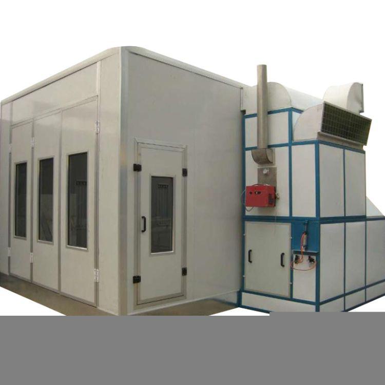 供应汽车标准型烤漆房涂装设备 标准电加热红外线汽车喷烤漆房