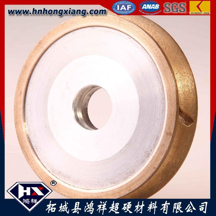 厂家直销金刚石砂轮圆形U型V型树脂砂轮可用于直边机斜边机