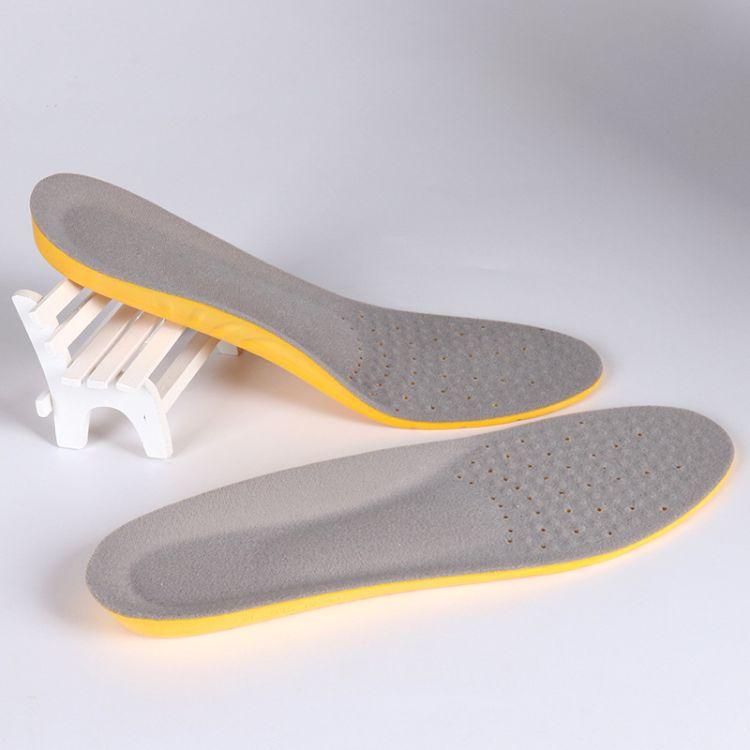 运动鞋垫男女足弓减震舒适军训跑步蓝球鞋垫透气防臭吸汗厂家直销