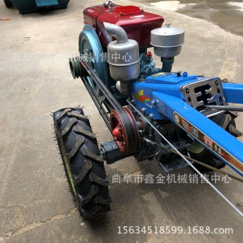 12马力常柴动力手扶拖拉机 柴油电启动耕地机 各种型号手扶拖拉机