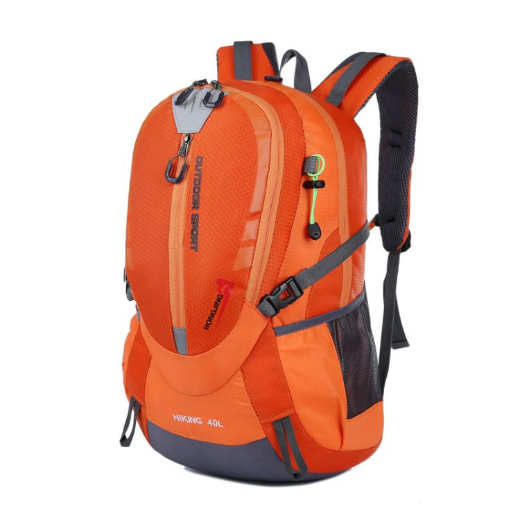 2018新款户外旅行双肩包尼龙透气运动户外登山包休闲行李背包批发