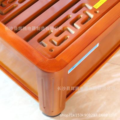 实木取暖器烤脚电火箱电火桶暖脚器烤火炉烤火箱烤火器家用电炉子