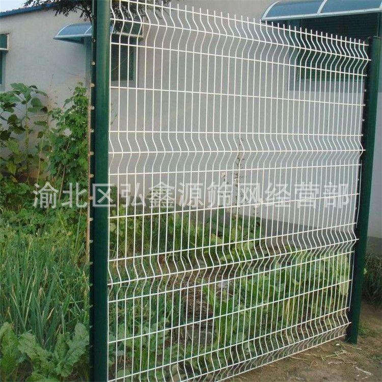 桃形柱护栏网 三道湾护栏网防护网 小区围栏网场区隔离网