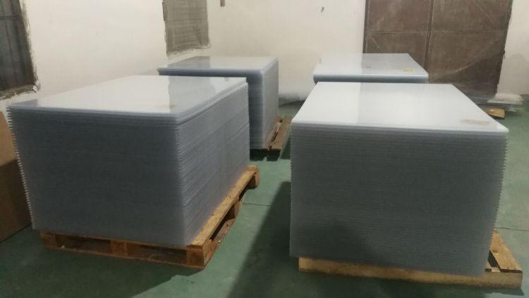 板材 透明有机玻璃 相框专用 环保PS板材 有机板 ps板各种规格