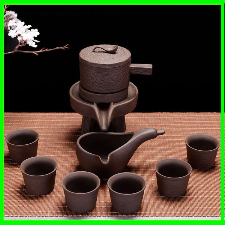 紫砂自动茶具套装 功夫紫砂茶具套装 供应礼品自动茶具套装 批发
