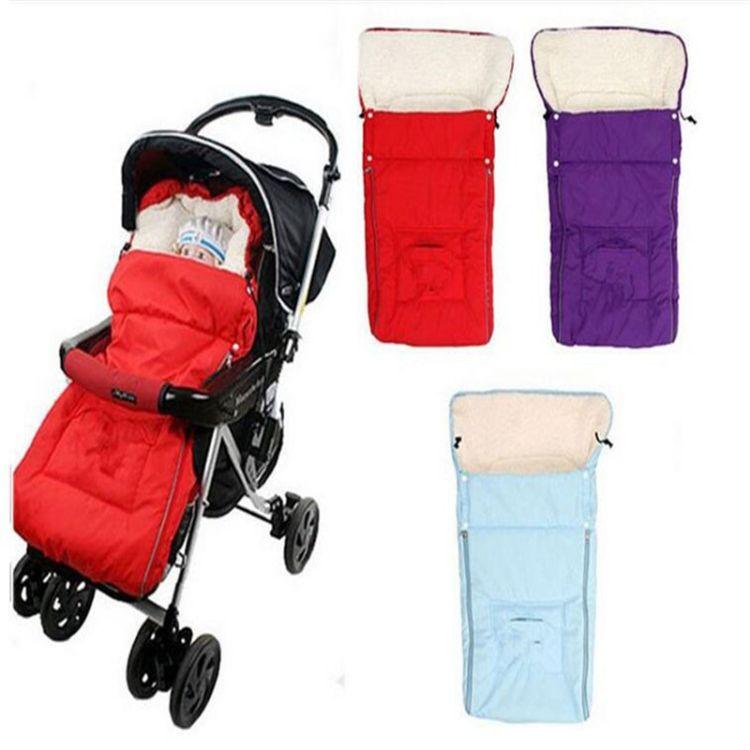 韩国原单两用多功能婴儿睡袋宝宝防踢被抱被外出推车睡袋94CM