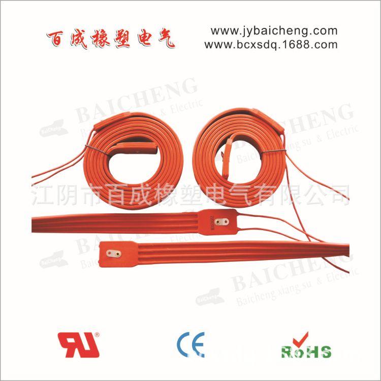 加工定制加热保温硅橡胶加热带 硅橡胶管道电热带 硅橡胶加热板