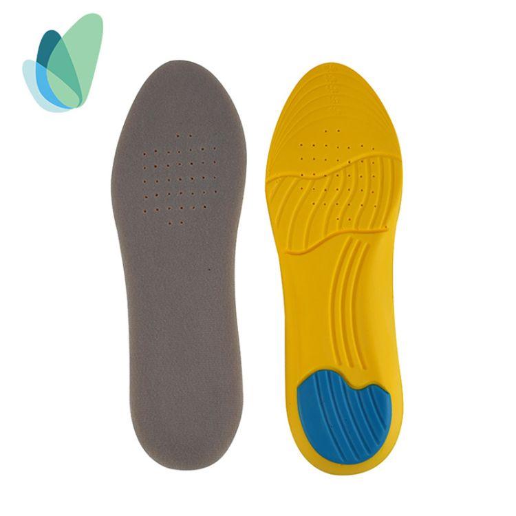 运动鞋垫 军训篮球足球跑步鞋垫PU运动鞋垫 透气吸汗舒适鞋垫批发