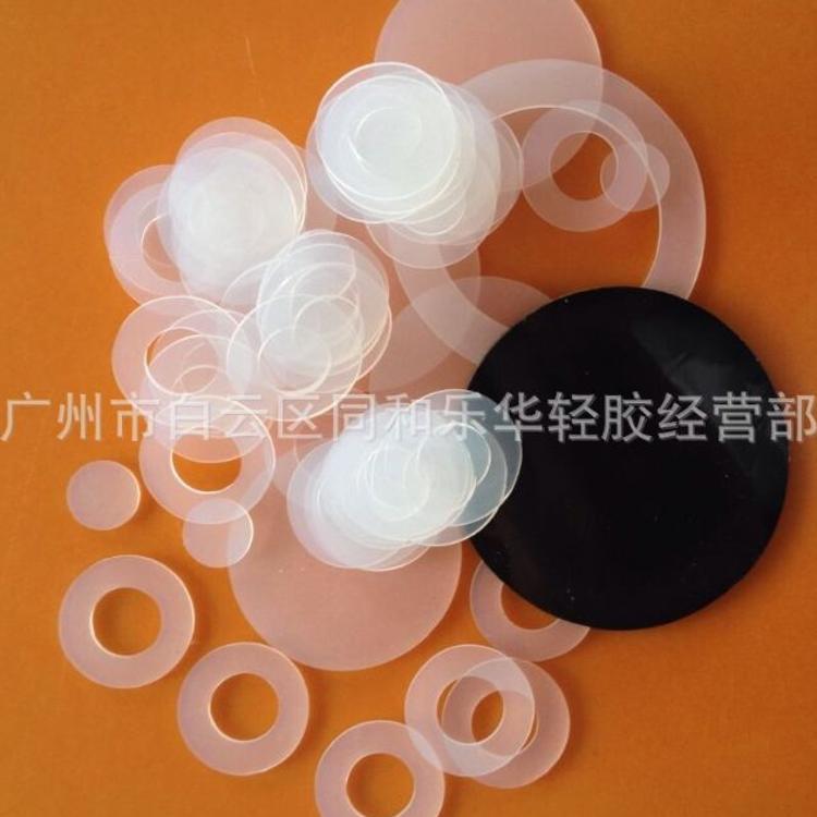 厂家直售 3M透明硅胶垫  圆形硅胶垫片  透明硅胶垫圈