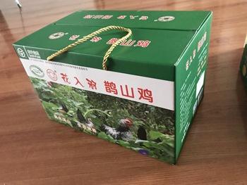 鹊山鸡龙凤呈祥礼盒