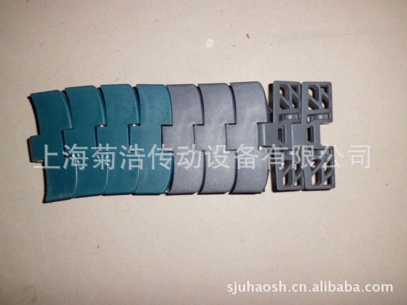 传送链弯道FTM1060XLG K330墨绿色,宽度83.8,JUHO弯链精工品质
