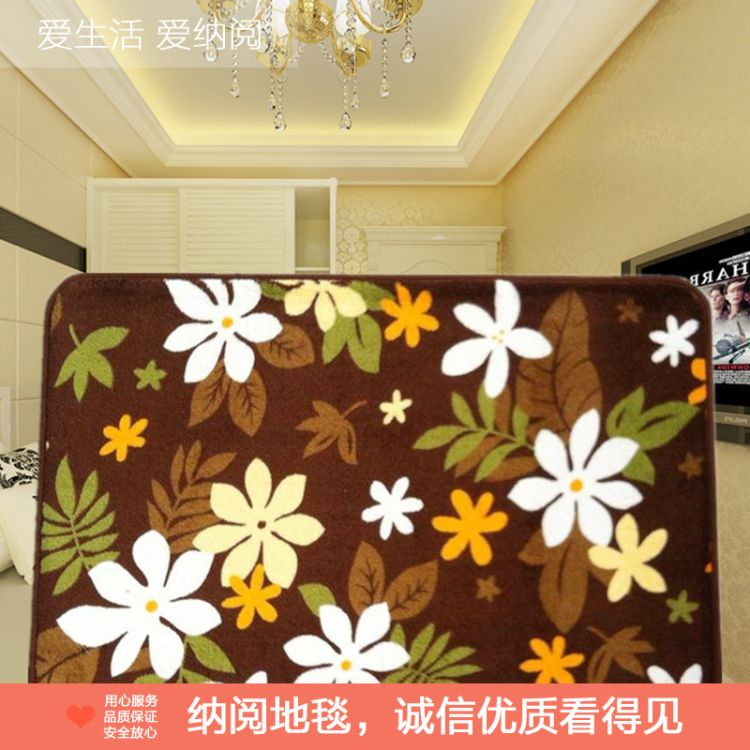 厂家批发珊瑚绒地毯 厨房客厅卫生间浴室防滑脚垫吸水防滑浴室垫