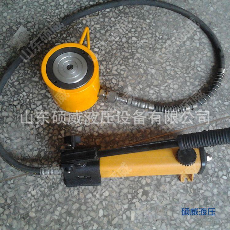 山东QF型单向工程液压油缸生产厂家 按图纸加工超高压薄型液压缸