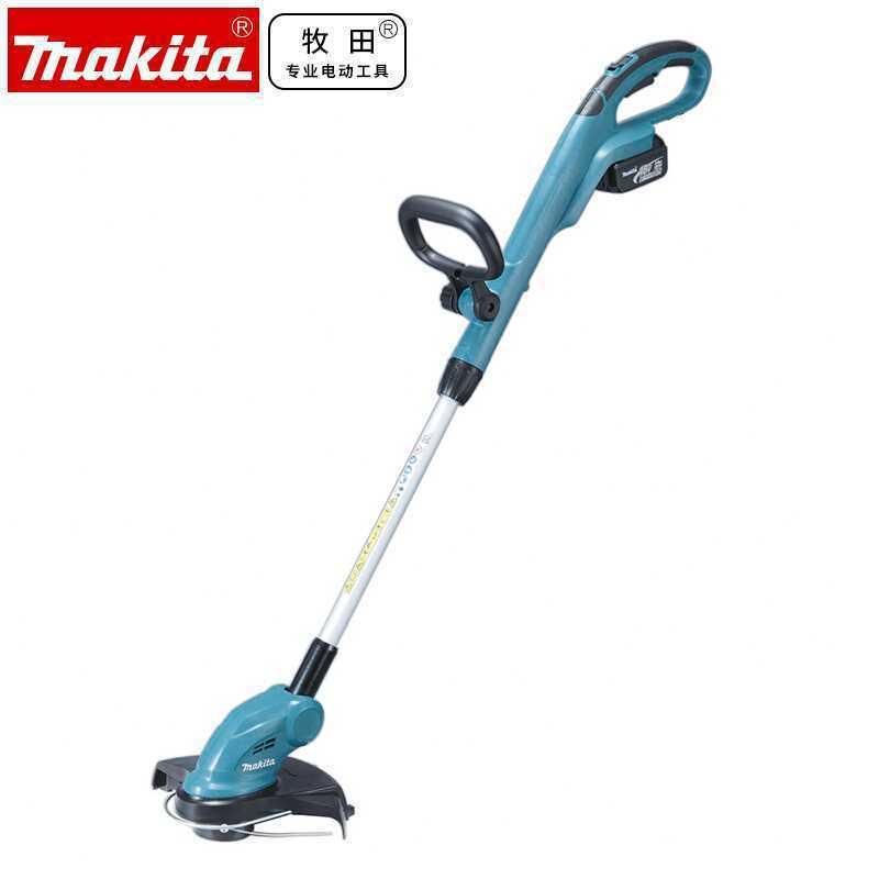 makita牧田DUR181充电式割草机18V锂电园林工具打草机草坪修剪机