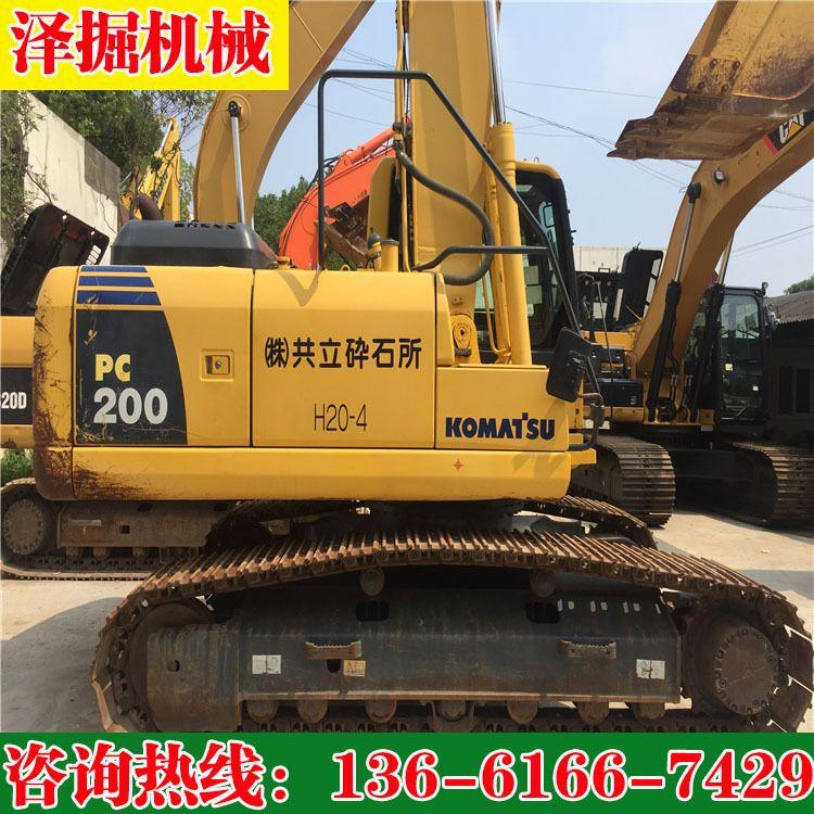 日本小松二手200-8全进口挖掘机 小松中型挖掘机