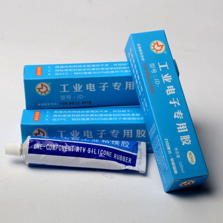 耐高温粘接密封胶JD-9766 耐400度高温密封胶 高温密封胶生产厂家