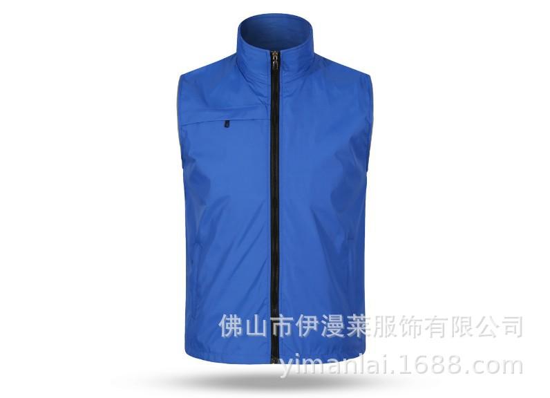 新款志愿者马甲广告衫马甲高档反光条口袋款马甲7色 CF705