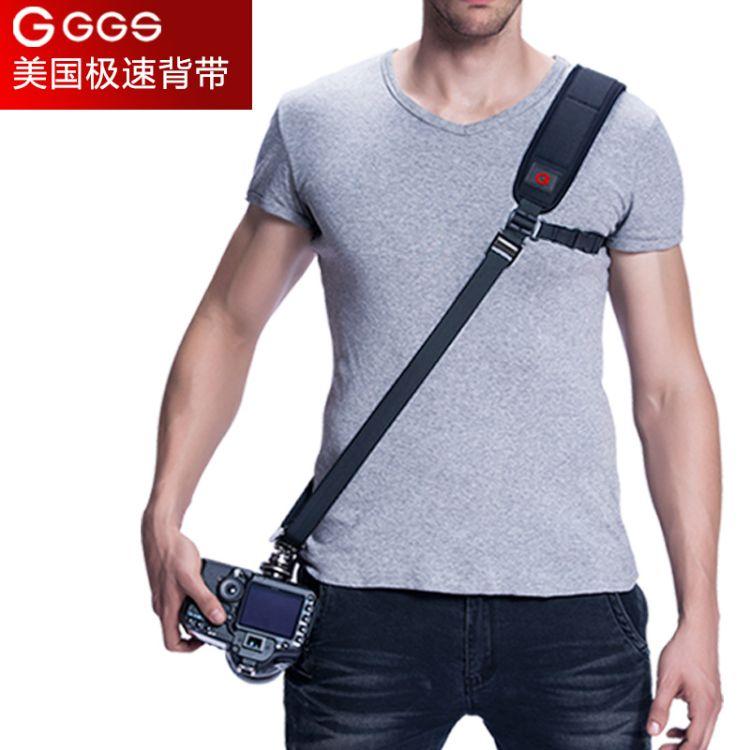 厂家直销快速减压单肩相机肩带-适用佳能相机单反背带摄影器材