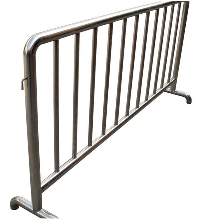 博昌牌不锈钢铁马广场护栏活动护栏商场铁马围栏不锈钢地铁隔离
