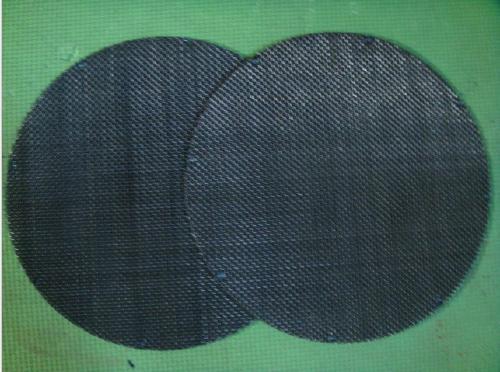 60目铁丝网过滤网片 圆形过滤橡胶用网 厂家加工金属丝网片