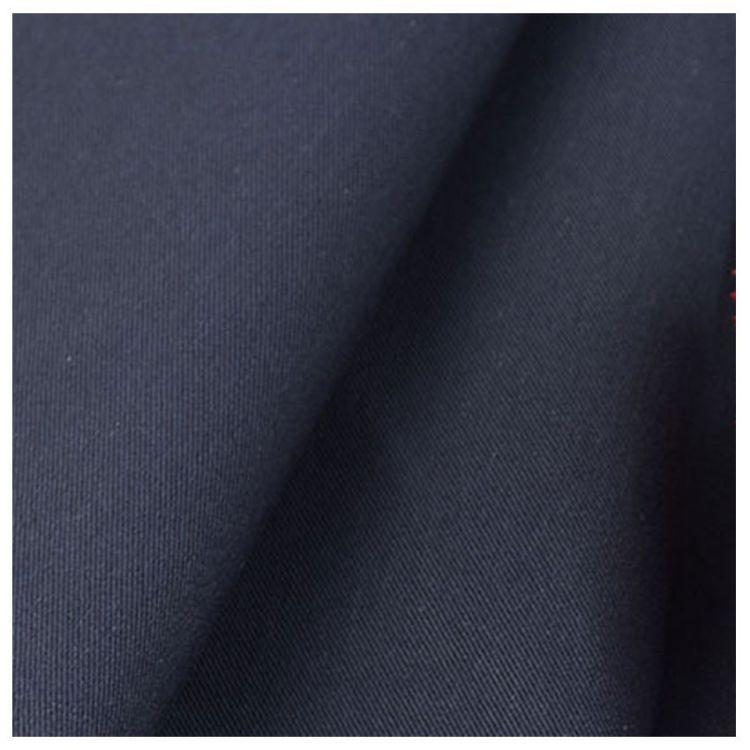 棉锦弹力 梭织弹力双面斜纹 春夏高档时装面料81%棉17%锦纶7%氨纶
