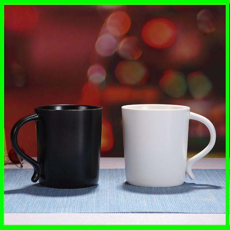 新款陶瓷水杯 带盖新款水杯 供应礼品咖啡马克杯陶瓷水杯 批发