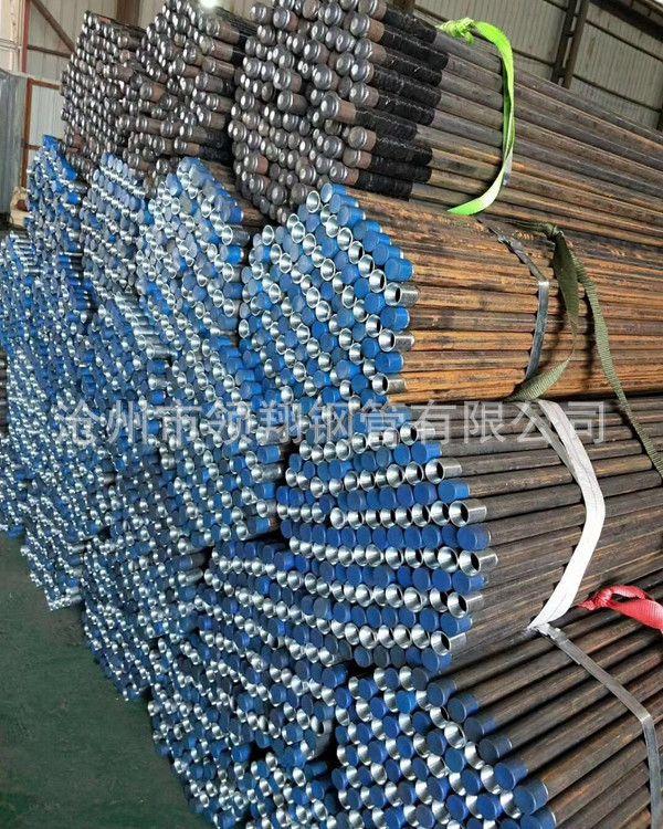 螺纹连接注浆管 钳压式注浆管 32注浆管直销厂家