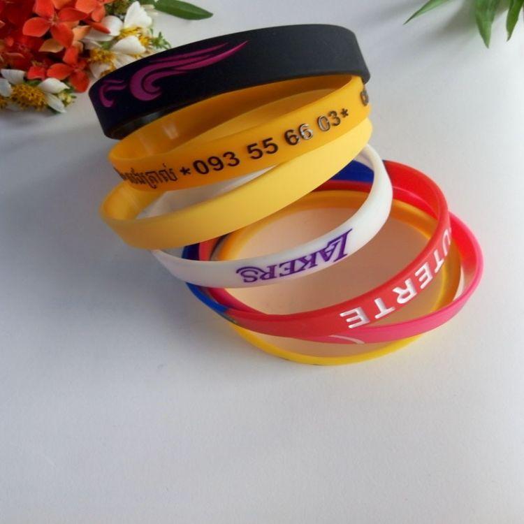 现货销售硅胶手环软胶手环 时尚能量手环 学生硅胶手环
