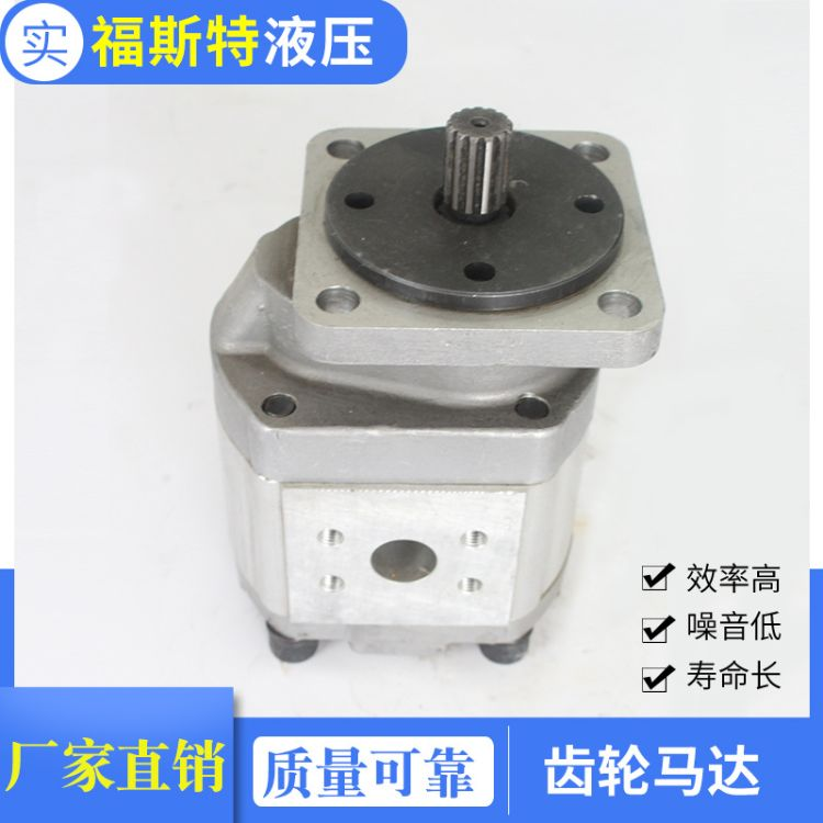 铝合金齿轮马达 CMGh2齿轮马达矿山机械钻探机械齿轮马达